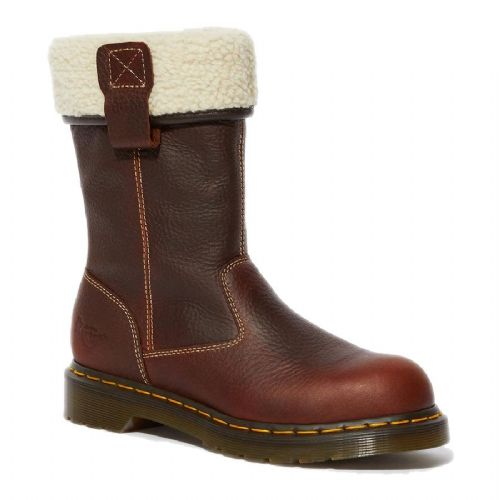 Dr Martens Belsay Ladies Brown Safety Boots